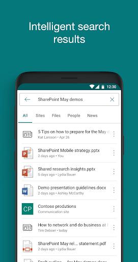 SharePoint screenshot 3