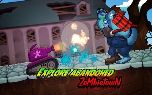 Zombie Survival Games: Pocket Tanks Battle