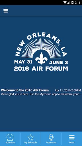 AIR Forum 2016