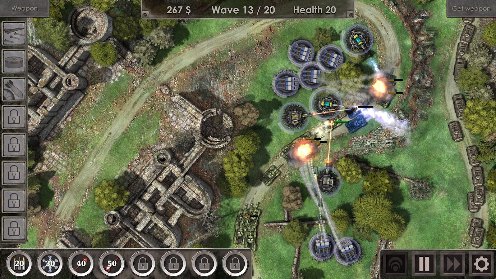 Defense Zone 3 HD– captură de ecran