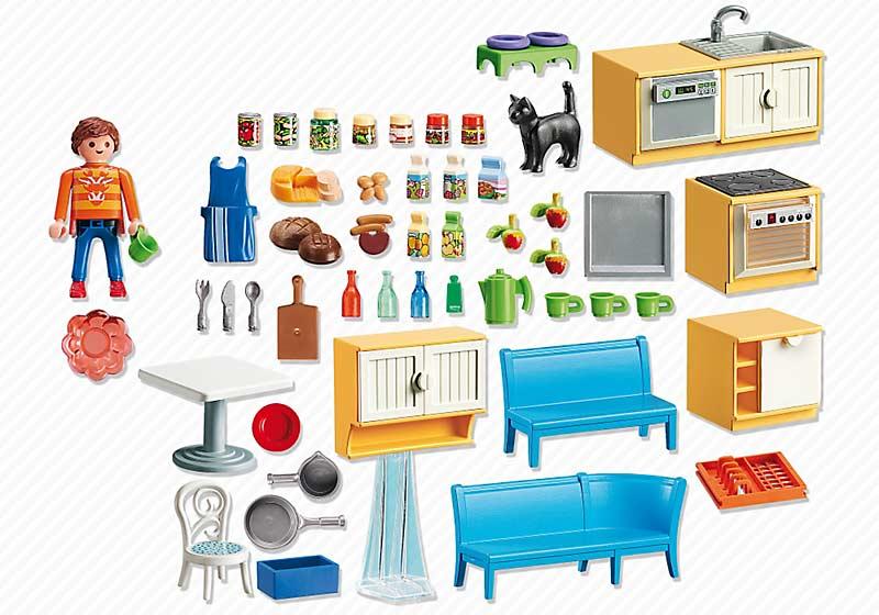 Contenido real de Playmobil® 5336 Cocina