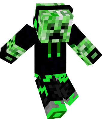 Creeper Nova Skin - Skins fur minecraft creeper