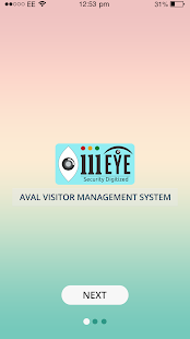 AVAL Visitor Management System - náhled