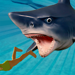 Angry Killer Shark Attack 3D