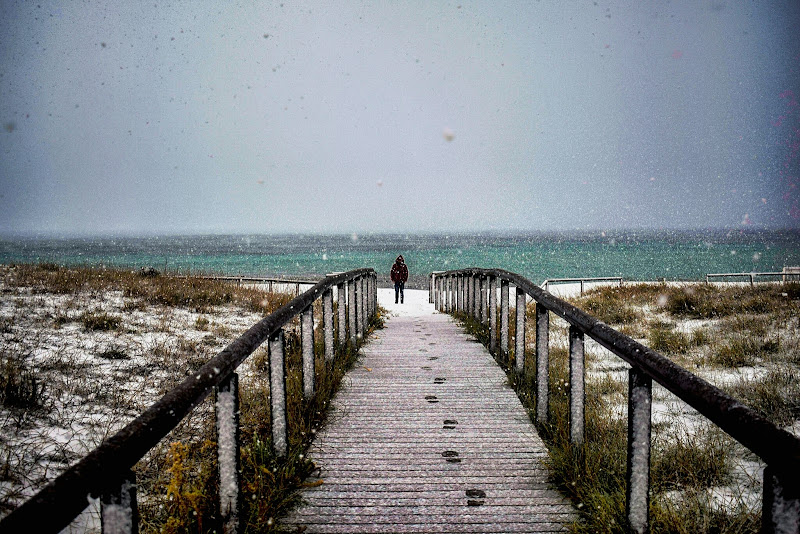 Sea and Snow di annett_occhilupo