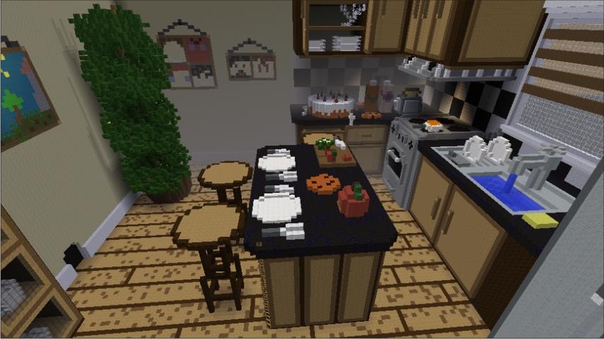 Kitchen Craft Ideas Minecraft Capture Decran