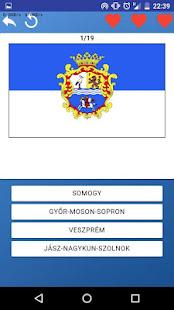 Counties of Hungary - maps, tests, quiz screenshot 2