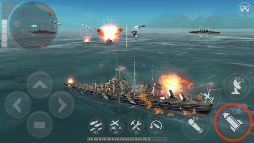 WARSHIP BATTLE:3D World War II 3.1.2 screenshots 1