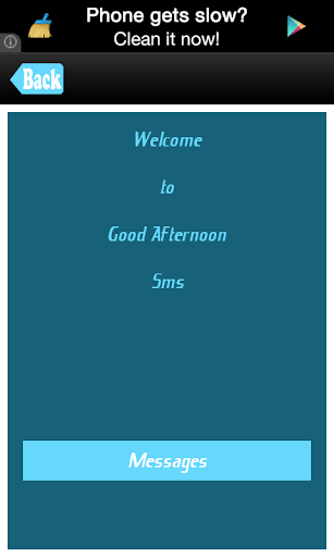Good Afternoon Messages Sms