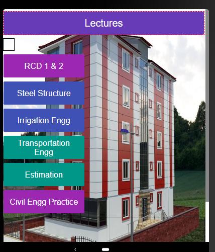 Civil Engineering Content screenshot 2