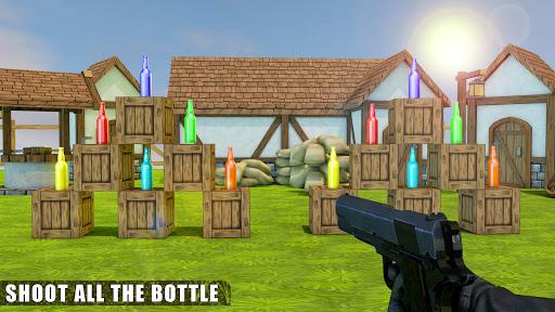Bottle Shooting : New Action Games 2019 screenshots 3