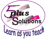 Five Plus - Learn as you teach Logo