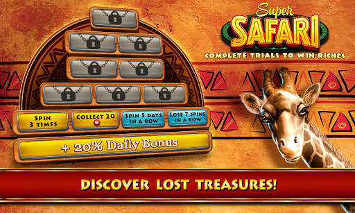 Safari Slots - screenshot
