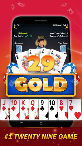29 Card Game ( twenty nine ) Offline 2020  screenshots 1