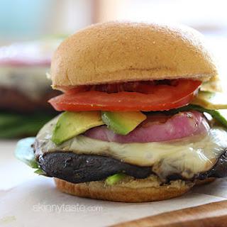 The Best Grilled Portobello Mushroom Burgers.