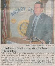 Photo: DeLand Mayor Bob Apgar - September 18-20, 2006