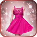 Short Dress Girl Photo Montage icon
