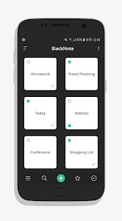 App BlackNote Notepad Notes APK for Windows Phone