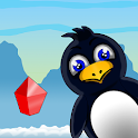 Penguin Rocky: Great Journey 2D - No Ads icon