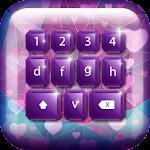 Purple Keyboard For Girls
