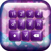 Purple Keyboard For Girls