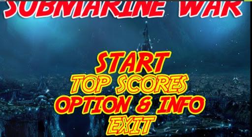 Submarine War Zone Game