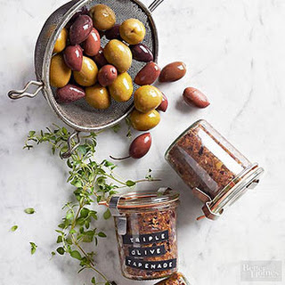 Triple-Olive Tapenade