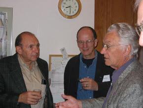 Photo: UCI Professors Arnie Goodman, John Boyd  and Kim Romney