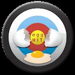 Egg Hit Slingshot Icon