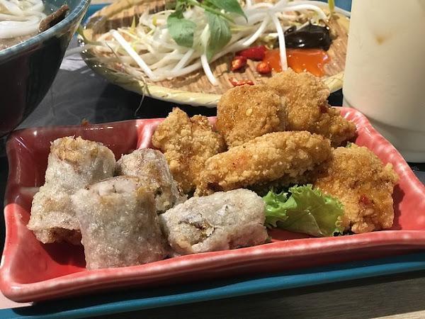 新開幕越南飛機河粉 夏天吃酸甜最消暑 二訪加點美味炸物套餐-飛機河粉台北車站店