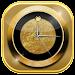 Luxury Clock Gold Icon