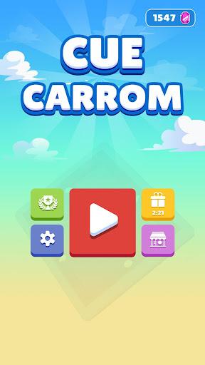 Cue Carrom Disc Pool Pocket Board  screenshots 1
