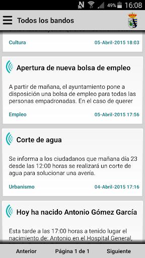 Oliva de Plasencia Informa