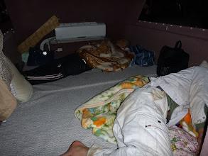 Photo: 今日、お仕事だった二人は、就寝中。