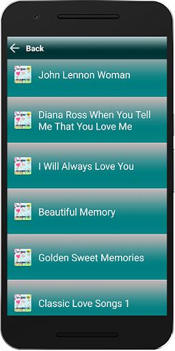 Love Songs MP3 Sweet Memories ss2