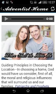 The Adventist Home screenshot