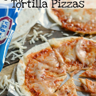 Quick & Easy Tortilla Pizzas