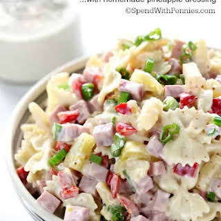 Hawaiian Pasta Salad.
