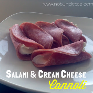 Salami and Cream Cheese Cannoli Recipe