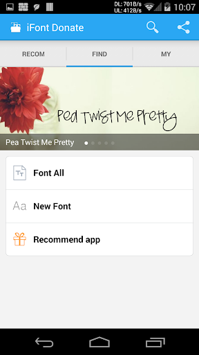 Screenshot for iFont Donate in Hong Kong Play Store