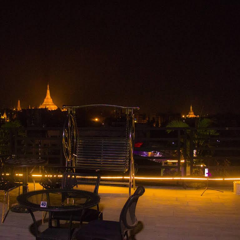 Sky Bar - Sky Bar is in Yangon International Hotel, the