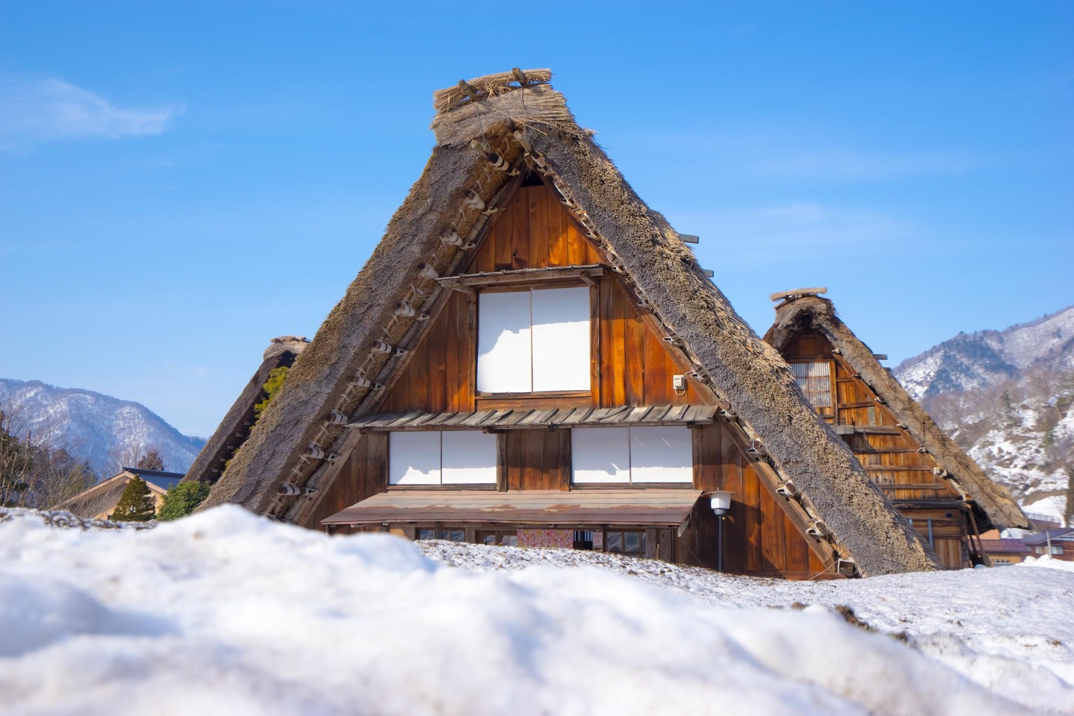 Shirakawa-go gassho style house1