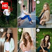 Girls Poses For Photoshoot Photo