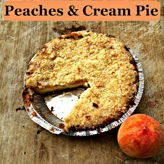 Peaches and Cream Pie Recipe {Loblaws Monthly Food Alert Item}