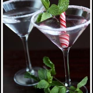 Vanilla Peppermint Martini.