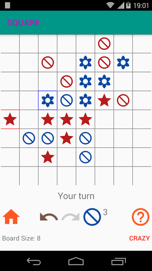 Square Tic Tac Toe- screenshot