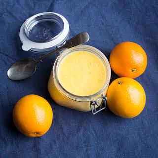 Orange Curd.