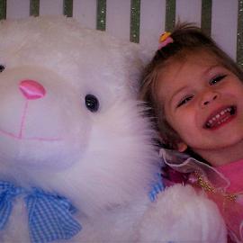 She like the Bunny! by Cheryl Beaudoin - Babies & Children Toddlers ( rabbit, girl, easter, bunny, celebration, toddler,  )