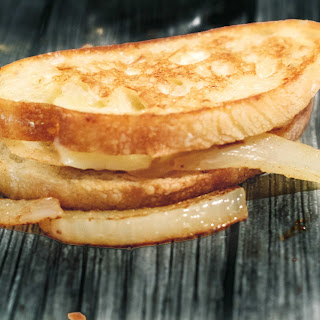 French Onion Comte Grilled Cheese.
