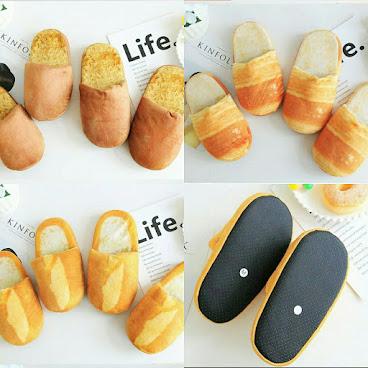 🍞 麵包造型保暖拖鞋 🍞